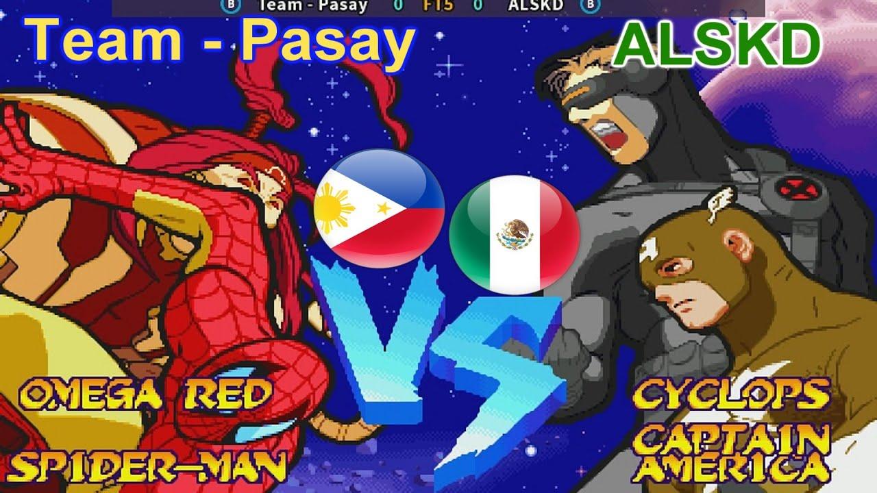 Marvel Super Heroes Vs. Street Fighter - Team - Pasay vs ALSKD FT5