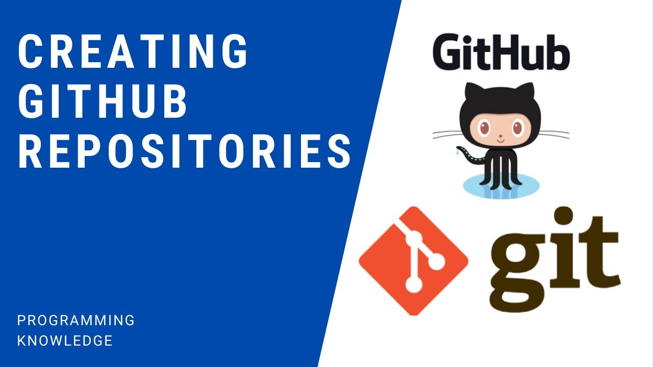 Git and GitHub Tutorial for Beginners  - Creating GitHub repositories + Useful Git commands.