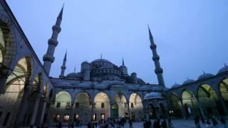 Турция. Стамбул. Голубая мечеть. Мечеть Султанахмет(Турция. Стамбул. Голубая мечеть. Мечеть Султанахмет. Смесь византийской и исламской архитектуры., 2013-05-04T11:46:40.000Z)