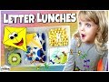 LETTER K LUNCH IDEAS 🍎 Letter Themed Lunches for KIDS bunches of lunches