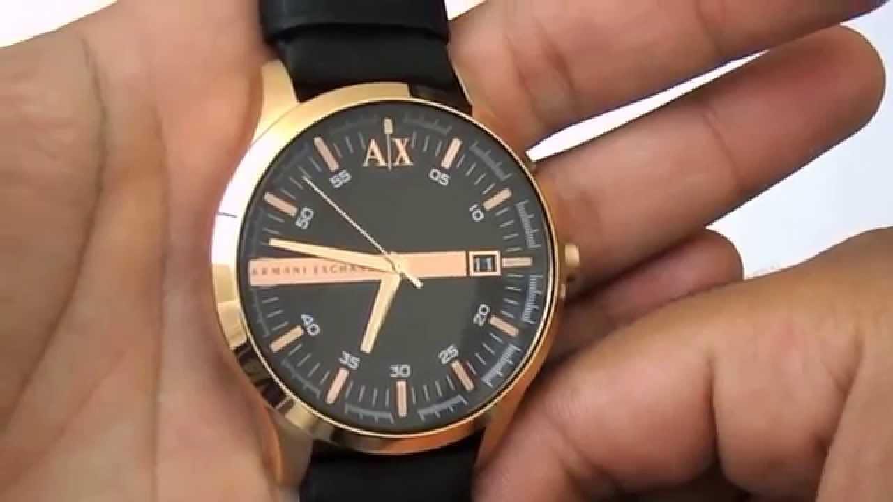 Relogio Armani Exchenge AX2129 2PN by Classe A Joias e Relógios. 074f375730