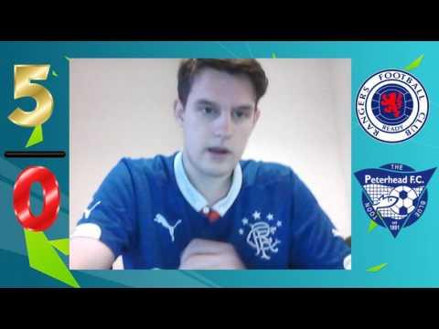 Rangers vs Peterhead 5-0 | Scottish League Cup | Match Review