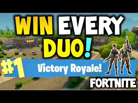 how to win every time fortnite battle royale duo easy xbox one playstation 4 or pc - ways to win fortnite