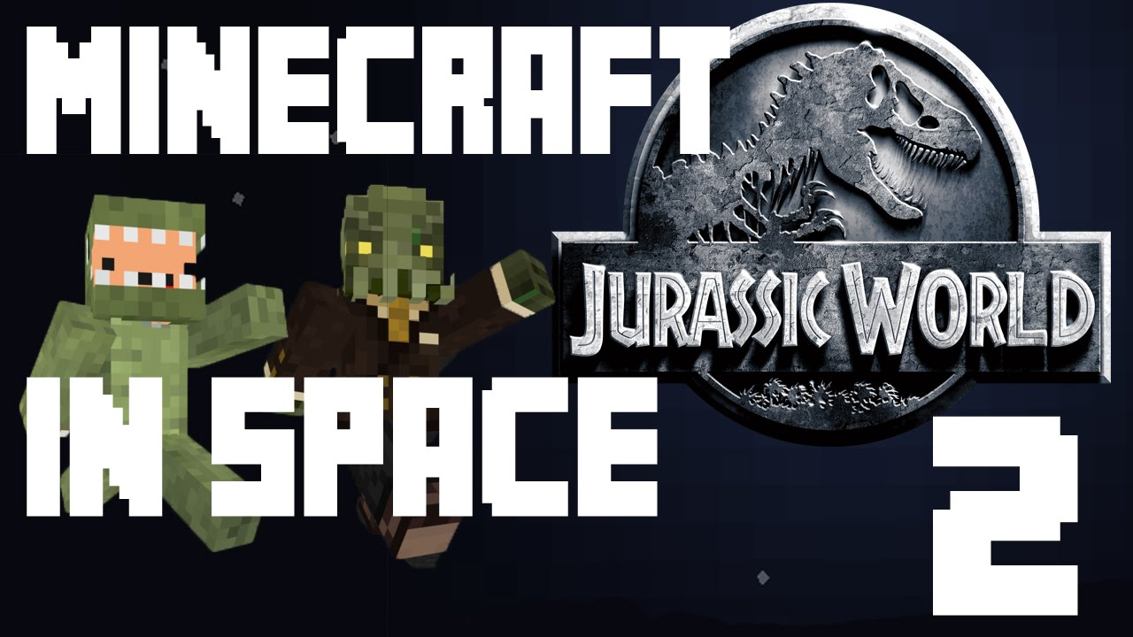 Minecraft - Jurassic World in Space 2 - Really bad jokes ...