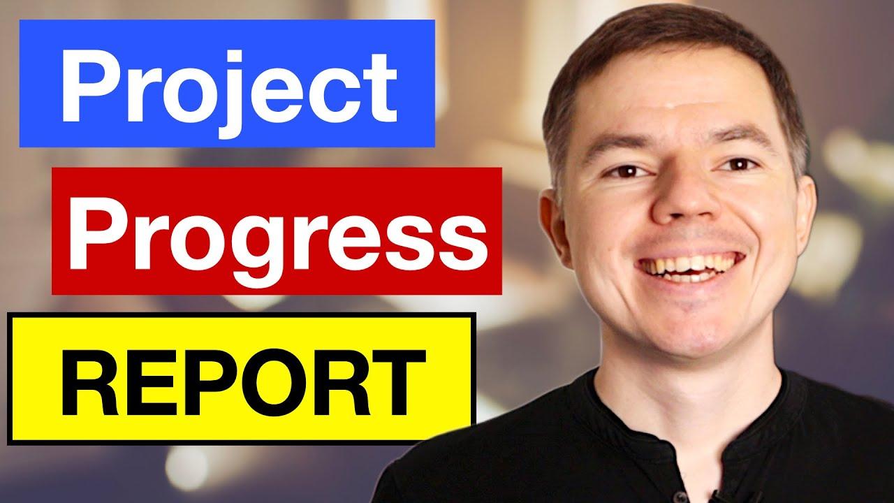 Project Status Report: Simple Project Progress Report Template