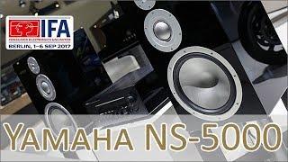 Yamaha NS-5000 Speaker hands on (german)