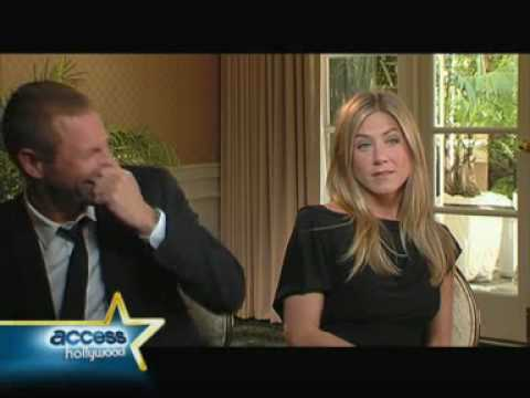 Aaron Eckhart and Jennifer Aniston 'Love Happens' Access Hollywood Interview