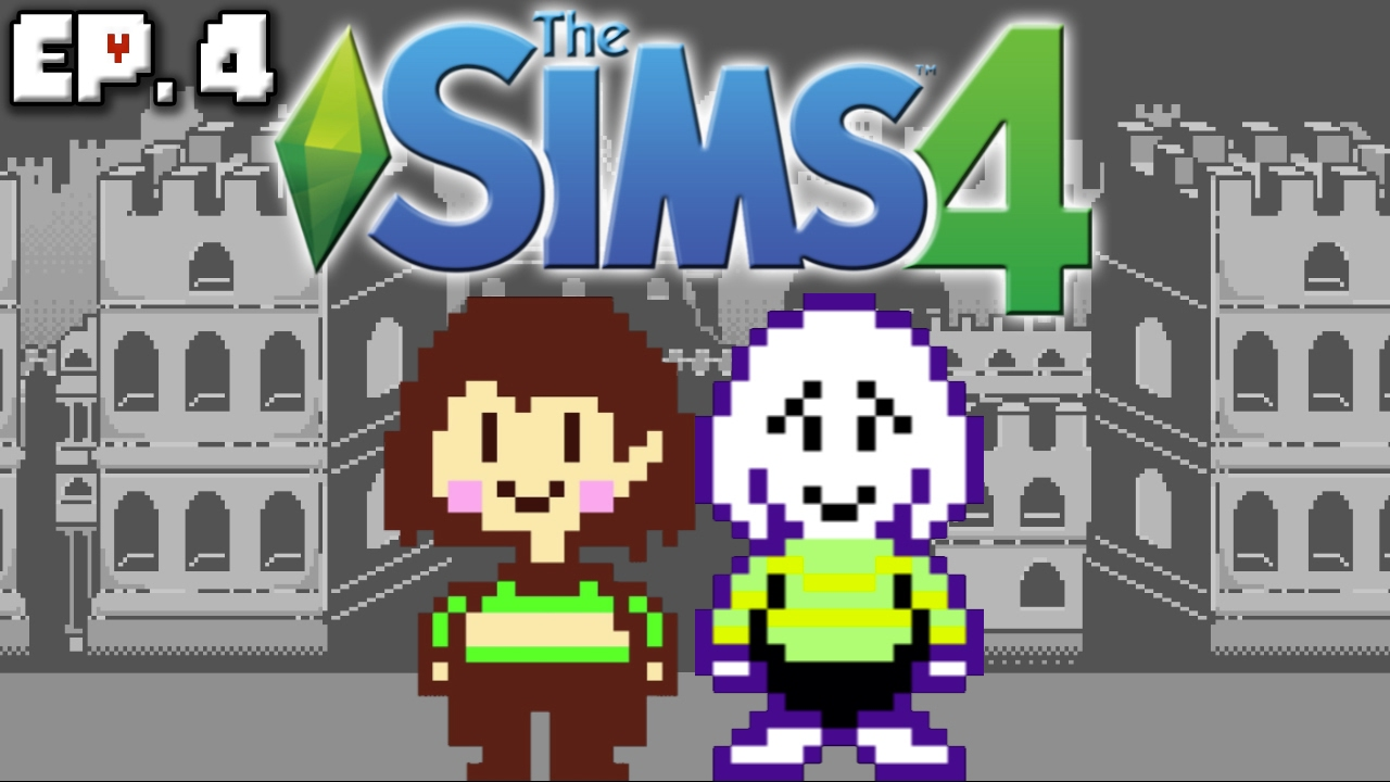 chara asriel s sad story the sims 4 undertale theme ep 4