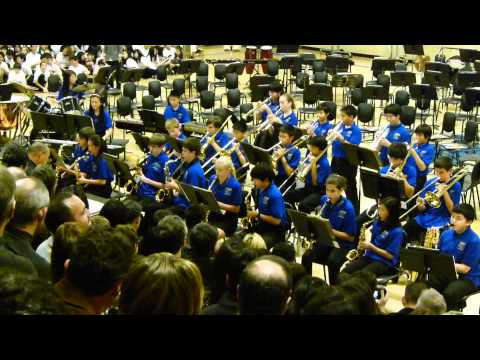 2011 Crocker Middle School Winter Concert Jazz Band - Ain't Misbehavin