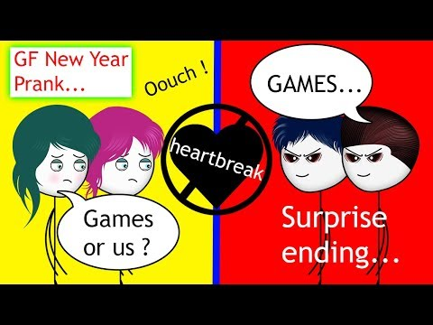 When A Gamer Pranks His Girlfriend On New Year