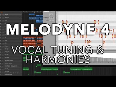 Melodyne 4 - Vocal Tuning & Harmonies