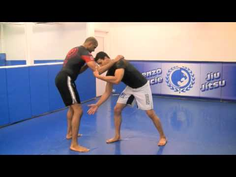 No Gi Double Leg Takedown from Renzo Gracie Academy