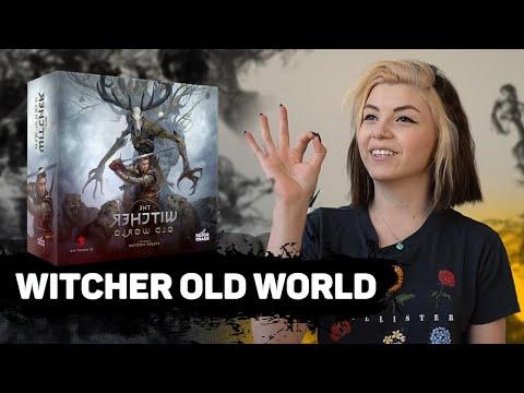Ведьмак настольная игра   Witcher Old World