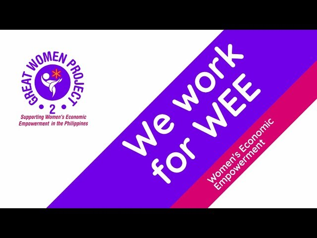 We work for WEE-A Partnership of Development and Enterprise