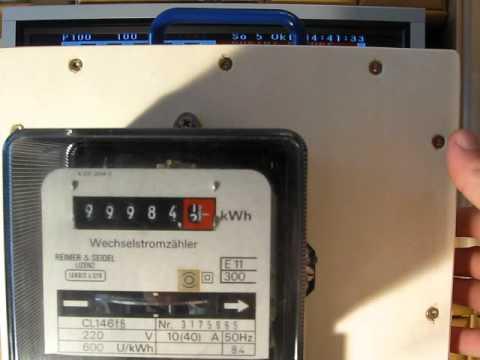 Häufig Gerät zum zurücksetzen des Zählerstandes eines Stromzählers - YouTube DT62
