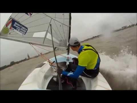 Finn European Championship 2014 - The Medal Race