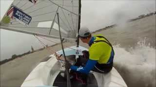 Finn European Championship 2014 - The Medal Race