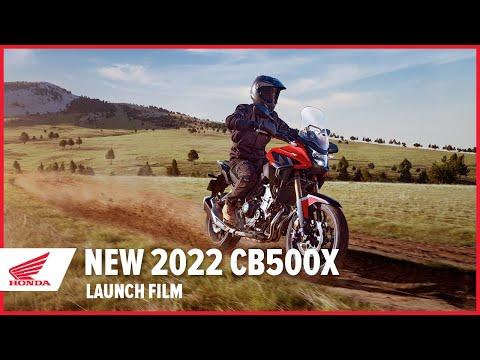 New 2022 CB500X Launch Film