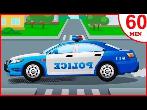Das Polizeiautos Kinderfilme | Cartoon für Kinder | Animierter Zeichentrick in Deutsch