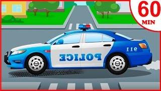 Das Polizeiautos Kinderfilme | Cartoon für Kinder | Animierter Zeichentrick in Deutsch