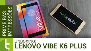 Unboxing e primeiras impressões do Vibe K6 Plus | Vídeo do TudoCelular