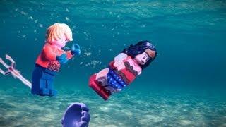 """Lego Justice League """"Origin"""" Trailer"""
