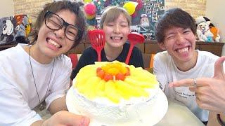 テオくんに手作り誕生日ケーキをプレゼントしてみたwwwwww