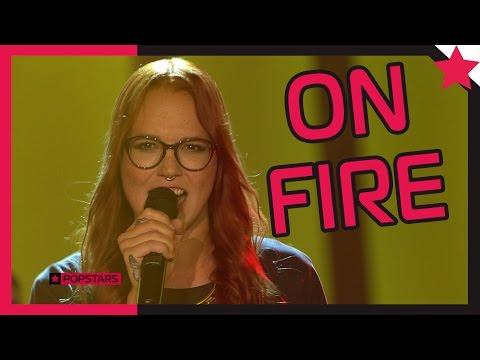 Stefanie Heinzmann: On Fire - Popstars