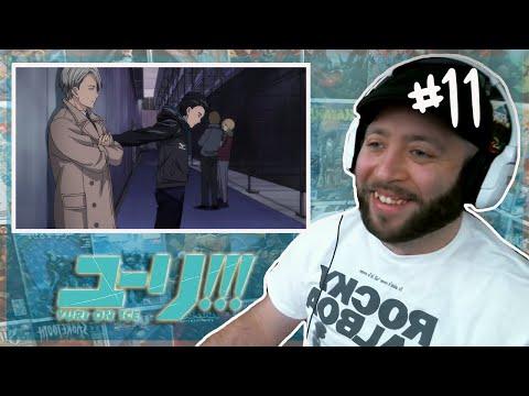 Yuri On Ice Episode 11 REACTION