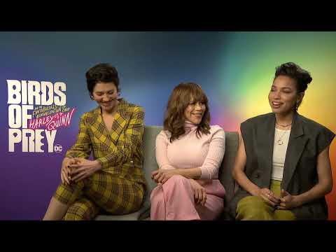 Birds Of Prey Interview Mary Elizabeth Winstead Rosie Perez And Jurnee Smollett Bell Youtube