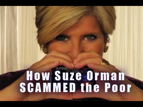 "Suze Orman: ""Bernie Madoff"" for the Poor and Middle Class."
