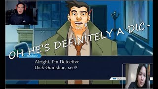 [GAME REACTION] Kubz Scouts (Phoenix Wright: Ace Attorney) - DETECTIVE DICK... WELL HE IS