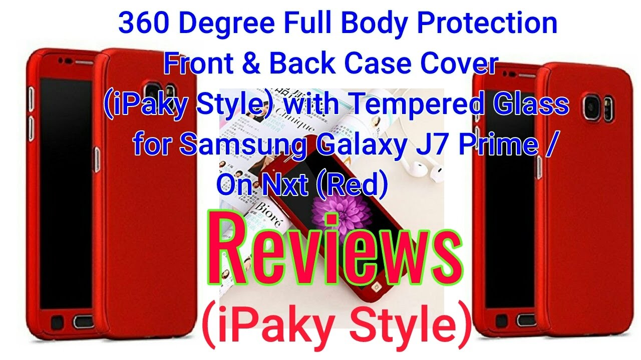 b8f4e5f4b3e CEDO 360 Degree Full Body Protection Front   Back Case Cover (iPaky Style)  with Tempered Glass