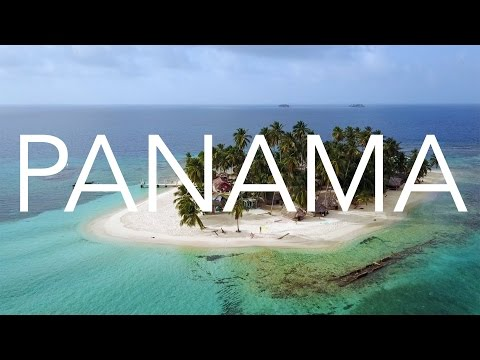 San Blas Carribean paradise islands in Panama I DJI Mavic Pro drone aerial video footage in 2.7k
