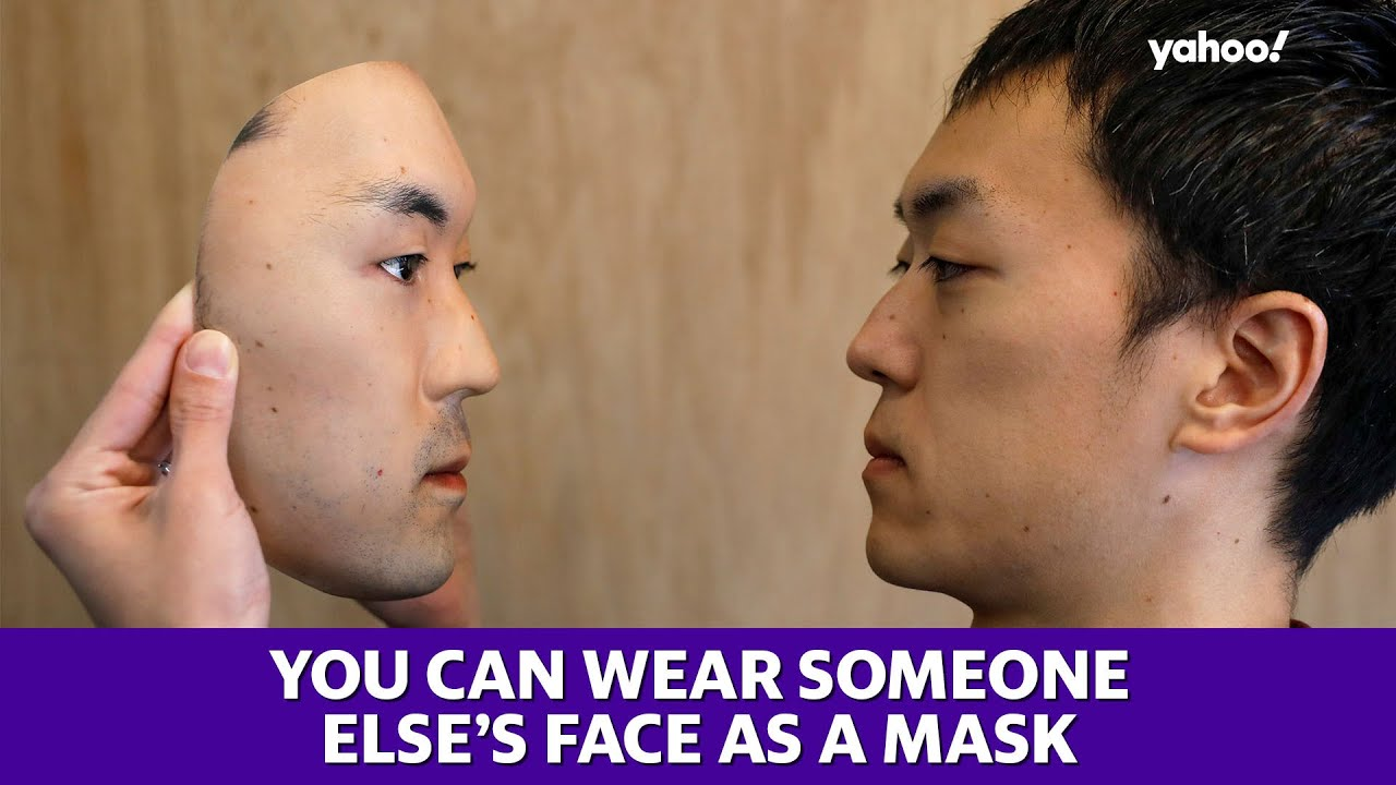 Mask maker in Japan creates Realistic looking Faces that cost about 0