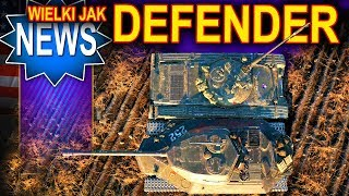 Nowy HWK 30 i nowy naleśnik wielki jak Defender! - World of Tanks