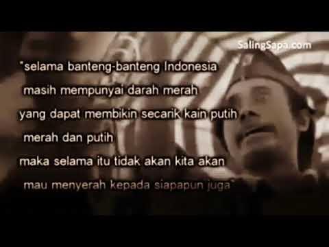 Pidato bung Tomo yang menggetarkan jiwa rakyat indonesia !!!