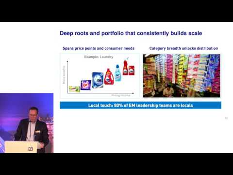 Unilever at the Deutsche Bank Global Consumer Conference, Paris