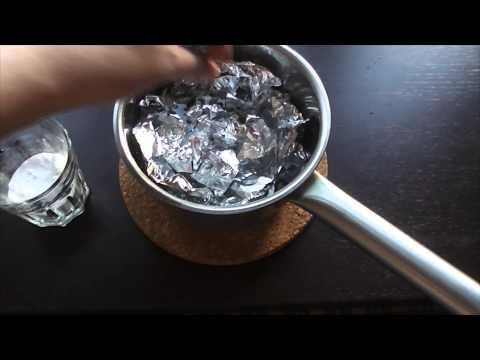 Как очистить серебро дома за 3 минуты