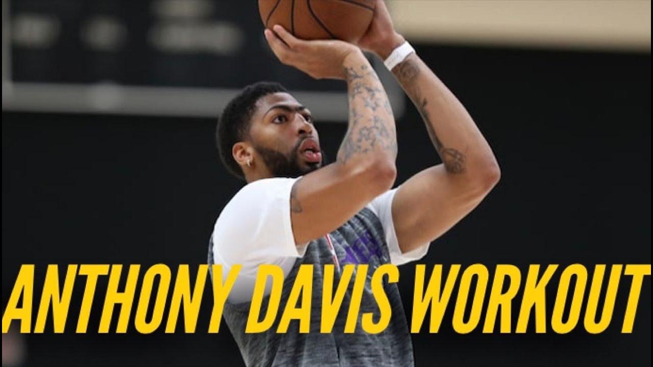 Inside Lakers Practice: Anthony Davis Prepares For NBA Return