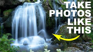 How to use a 10 stop ND Filter with your Camera