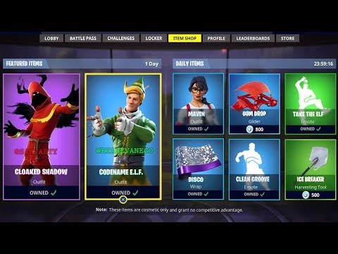 *NEW* FORTNITE ITEM SHOP COUNTDOWN! December 28th - New Skins! (Fortnite Battle Royale)