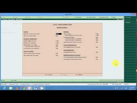 Purchase order and Sales Order Entry in Tally ERP9 in hindi