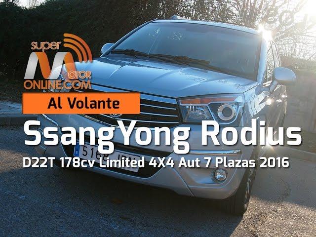 SsangYong Rodius 2016 / Al volante / Prueba dinámica / Review / Supermotoronline.com