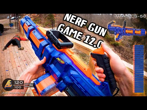 NERF GUN GAME 12.0 (Nerf First Person Shooter!)