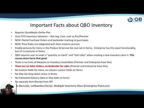 QB POWER HOUR: Managing Inventory in QuickBooks Online