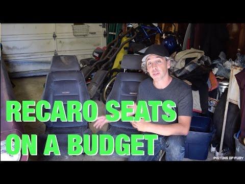 PoF // Episode 6 - DIY Recaro Seat Budget Restoration