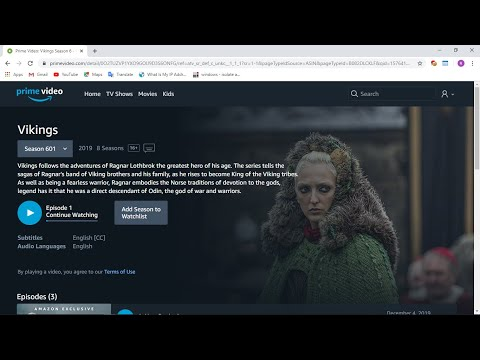 How To Watch Blocked Netflix , PrimeVideo From Anywhere || Vikings Season 6