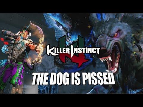 THE DOG IS PISSED: EAGLE - Online Ranked Killer Instinct 2017