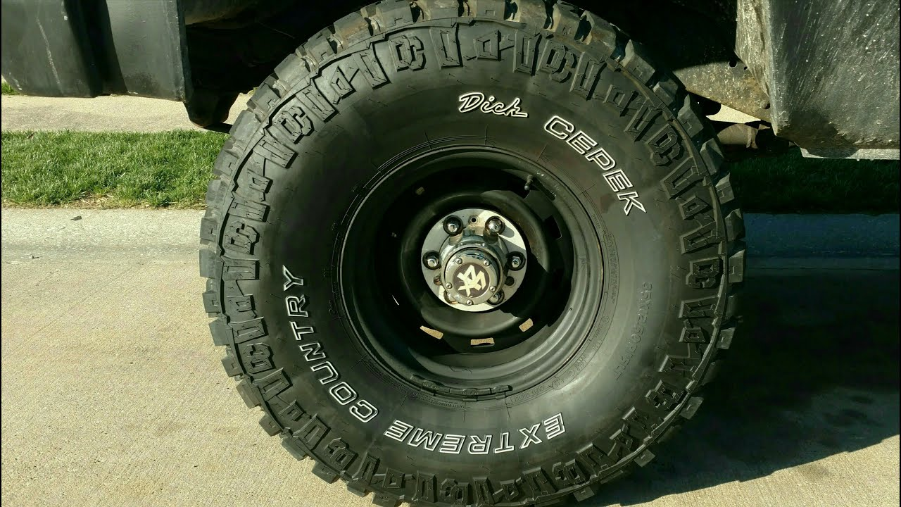 Blacked Out Rally Wheels On 81 Chevy K20 Youtube